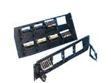 CommScope 超五类非屏蔽48口配线架(带理线环/PM2150PSE-48)